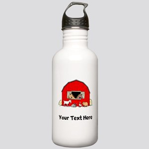 Barn Animals (Custom) Water Bottle