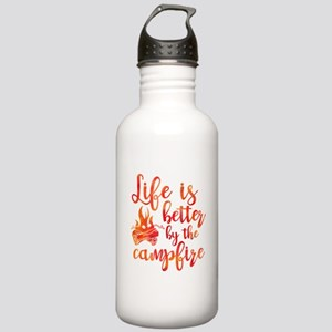 Life's Better Campfire Stainless Water Bottle 1.0L