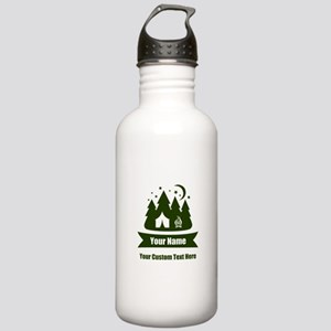 CUSTOM Camping Design Water Bottle