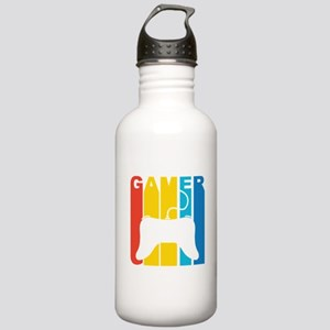 Retro Gamer Water Bottle