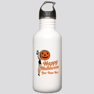 Pinup Halloween Water Bottle