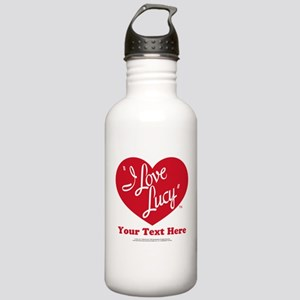 Personalized I Love Lu Stainless Water Bottle 1.0L