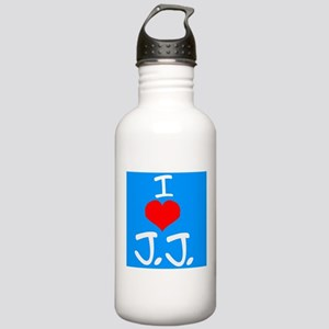 I heart J.J. Water Bottle