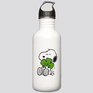 Snoopy Hugging Clover Stainless Water Bottle 1.0L