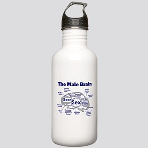 The Thinking Man's Stainless Water Bottle 1.0L