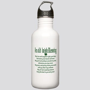Old irish Blessing Stainless Water Bottle 1.0L