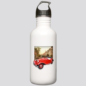 Red MG TD Roadster Stainless Water Bottle 1.0L