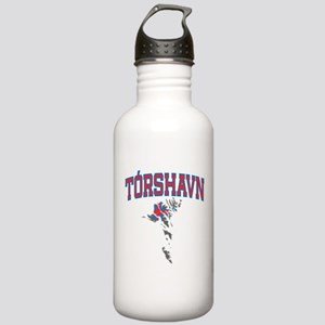 Torshavn Map Stainless Water Bottle 1.0L