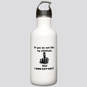 F... OFF Stainless Water Bottle 1.0L