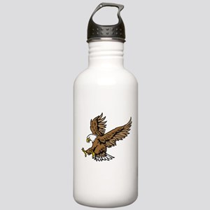 American Bald Eagle Stainless Water Bottle 1.0L