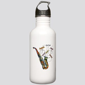 Wild Saxophone Stainless Water Bottle 1.0L
