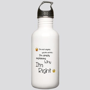I'm right Stainless Water Bottle 1.0L