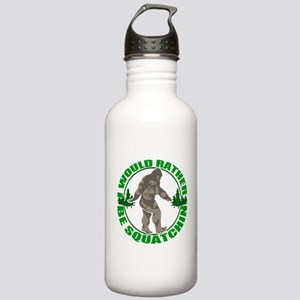 Rather be Squatchin G Stainless Water Bottle 1.0L