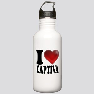 I Heart Captiva Stainless Water Bottle 1.0L