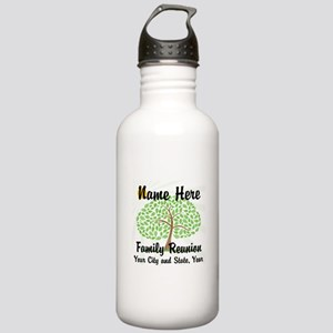 Customizable Family Reunion Tree Water Bottle