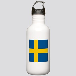 Flag of Sweden Sports Water Bottle