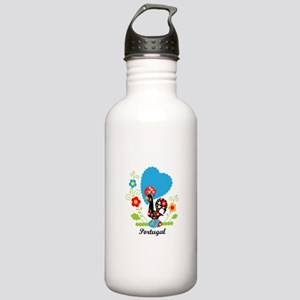 Portuguese Rooster Water Bottle