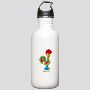 Traditional Portuguese Rooster Water Bottle