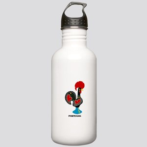 Portuguese Rooster of Luck Water Bottle