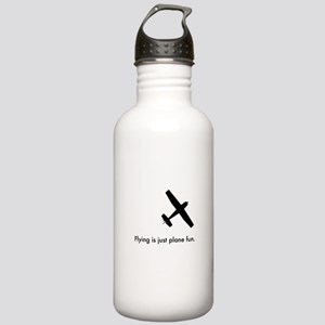 Plane Fun 1407044 Stainless Water Bottle 1.0L