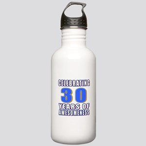 30 Years Of Awesomenes Stainless Water Bottle 1.0L