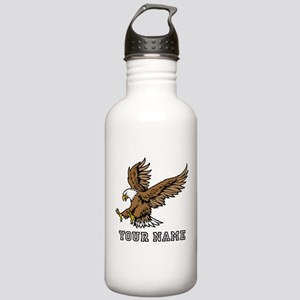 Bald Eagle (Custom) Water Bottle