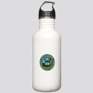 City of Chicago Seal Water Bottle