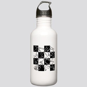 Kitchen Tools Checkerb Stainless Water Bottle 1.0L