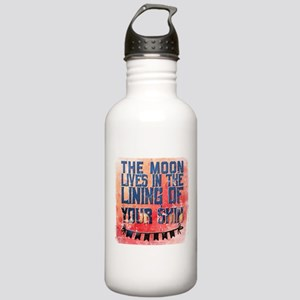 The moon lives in the Stainless Water Bottle 1.0L