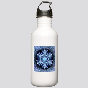 October Snowflake - sq Stainless Water Bottle 1.0L