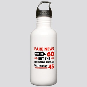 60th birthday designs Stainless Water Bottle 1.0L