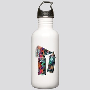 Graffiti and Paint Spl Stainless Water Bottle 1.0L