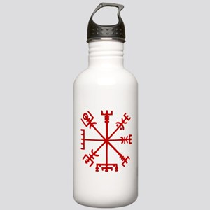 Blood Red Viking Compass : Vegvisir Sports Water B