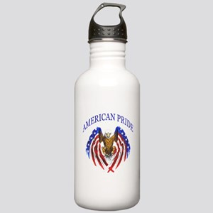 American Pride Eagle Stainless Water Bottle 1.0L