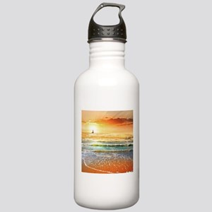 Tropical Beach Stainless Water Bottle 1.0L