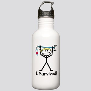 Chemo Survivor Stainless Water Bottle 1.0L
