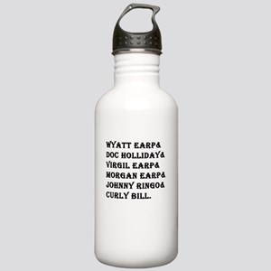 Tombstone Names Water Bottle