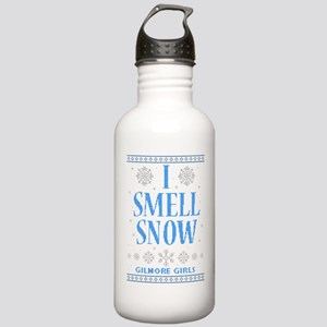 I Smell Snow Ugly Chri Stainless Water Bottle 1.0L