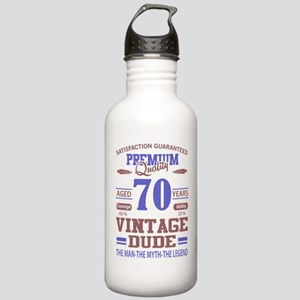 premium quality aged 70 years vintage dude Water B