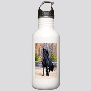 Frisian Horse Stallion Stainless Water Bottle 1.0L