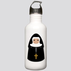Cute Nun Stainless Water Bottle 1.0L