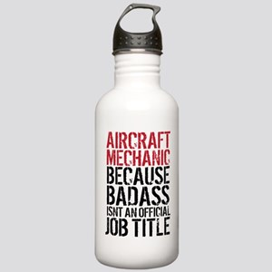 Aircraft Mechanic Bada Stainless Water Bottle 1.0L