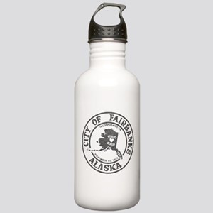 Vintage Fairbanks Alaska Water Bottle