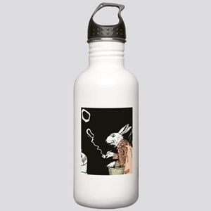 Pipe Smoking rabbit Water Bottle