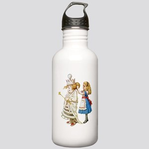 ALICE & THE WHITE QUEEN Stainless Water Bottle 1.0