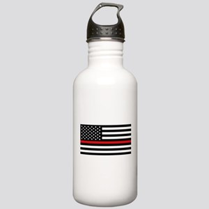Firefighter Flag Water Bottle