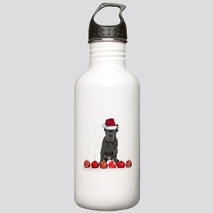 Christmas Cane Corso P Stainless Water Bottle 1.0L