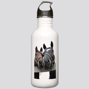 Kissing Horses Stainless Water Bottle 1.0L