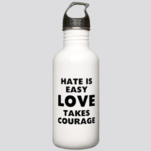 Hate Love Stainless Water Bottle 1.0L