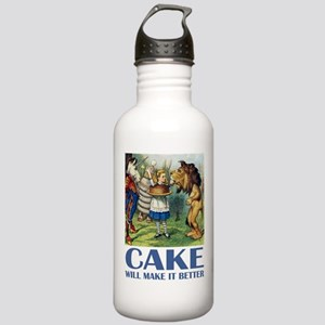 CAKE WILL MAKE IT BETTER Stainless Water Bottle 1.